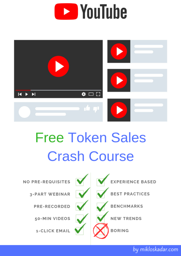 Token Sales Crash Course